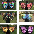 Thboxs Ladies Women Long Neck Scarf Colorful Soft Butterfly Wing Cape
