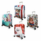 "Cat Design Elastic Luggage Suitcase Spandex Cover Protector For 20"" 24'' 28''"