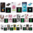 For iPhone 7 Plus Fluorescent Glow In The Dark Soft Pop TPU Silicone Case Cover