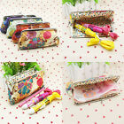 Women Coin Cute Small Handbag Case Cotton Embroidery Bag Coin Phone Purse