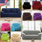 US HOT Universal Stretch Elastic Fabric Sofa Cover Sectional/Corner Couch Covers