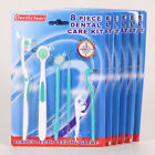 Oral Care Kit Set Toothbrush Dental Mirror Plaque Remove Tooth Stain Eraser WB