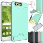 Hybrid 2 in 1 Card Slot Precise Duty Cover Case For Huawei Ascend P10 / P10 Plus