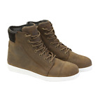 MERLIN DYLAN CASUAL BROWN LEATHER MOTORCYCLE BOOTS