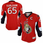 Erik Karlsson Ottawa Senators Reebok Youth Replica Player Hockey Jersey Red