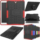 Hybrid Shockproof Precise Opening Hard Cover Case For Samsung Galaxy Tab S3 9.7""