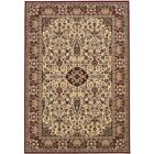Couristan Everest Ardebil Ivory  Red Area Rug