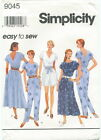 Simplicity 9045 Misses Easy Dress & Jumpsuit Sewing Pattern ~ Size XS S M