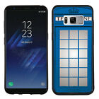 TPU Case (Black Bezel) for Samsung Galaxy S8 Plus / S8+ (Phone Booth Blue)