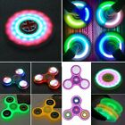 Glowing LED Lighting Hand Fidget Spinner Gyro Kids/Adult EDC Stress Reliever Toy