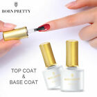 10ml Base Coat No Wipe Top Coat Soak Off UV LED Nail Art Gel Polish BORN PRETTY