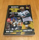 BECKETT FOOTBALL CARD PRICE GUIDE 2011-12 28TH EDITION AARON RODGERS COVER
