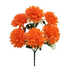 6 Full Mums  MANY COLORS  Silk Wedding Flowers Bouquets Centerpieces Fall Crafts
