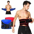 AOLIKES Lumber Lower Back Support Belt Pain Relief Gym Breathable Training Soft