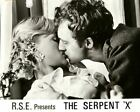 THE SEPENT ORMEN ORIGINAL LOBBY CARD HARRIET ANDERSSON 1966 SWEDISH