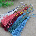10/50 Luxury 13cm Silky Tassels Craft Sewing Decoration Costume Cardmaking Trim