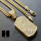 iced out lab diamond 14k gold pt