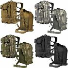 LIVABIT Outdoor Military Tactical Backpack Rucksack Hiking Camp Travel Bag Pack