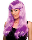 Glamour Wig long straight fashion hair synthetic dressup TV party stage costume