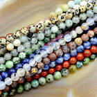 Natural Gemstones 8mm Round Loose Beads 15'' ~ 16'' Pick Stone