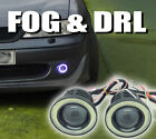 Projektor COB LED Nebel DRL SCHEINWERFER ANGEL EYES Paar Jeep