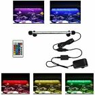 19-59cm Submersible RGB Color LED Light Bar Lamp for Aquarium Fish Tank + Remote