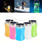 Outdoor Solar Camping Lamp Waterproof Foldable Tent Lamp LED Bottle Light