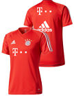 Bayern Munchen Adidas Sponsor T Mobile Training Shirt Top Red 2017 18