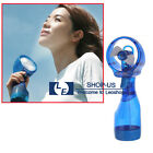 Portable Women Hand held Cooling Water Spray Misting Fan Mist Travel Beach Fan