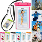 Luminous Glow Waterproof Underwater Pouch Bag Pack Dry Case For iPhone Samsung