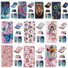 For Samsung Galaxy S6 Relievo 3D Varnish PU Leather Flip Card Wallet Case Cover
