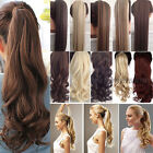 Long Claw/Wrap Around/Tie up Ponytail Clip in on Pony tail Hair Extensions piece