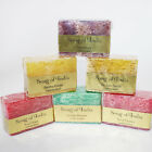 Luffa-Seife,100g Glycerinseife -Body Soap essential oils- Loofah, Song of India