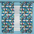 """THOMAS & FRIENDS PATCH CURTAINS 54"""" AND 72"""" DROP LENGTHS AVAILABLE KIDS CURTAINS"""
