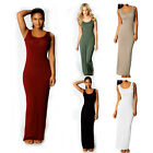 Summer Women Lady Maxi Dresses Sleeveless Holiday Evening Cocktail Party Dress