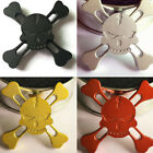Hot Fourleaf Skull Hand Spinner Kids Stress Wheel Toys For Autism and ADHD