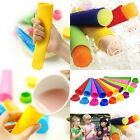 Making Set with Stand Popsicle Molds Small Kitchen Tool Free Silicone Ice Mould