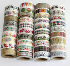 Washi Tape colourful 10 m  Roll Decorative Sticky Paper Masking Tape Adhesive