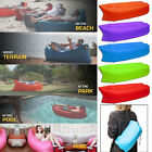 Lazy Inflatable Air Bed Lounger Sofa Beach Chair Portable Sleeping Bag Mattress