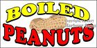 (CHOOSE YOUR SIZE) Boiled Peanuts DECAL Food Truck Sticker Sign Concession