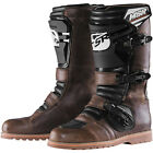 MSR Dual Sport MX Off Road Boots Brown Mens Sizes