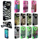 For Samsung Galaxy S6 Edge+ Plus G928 Rugged Hybrid Case Armor Cover w/Stand