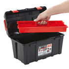 Plastic Tool Boxes Case Chest Tray Storage Box Caddy Shed Garage DIY BiGDUG