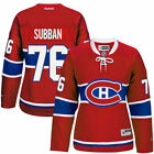 PK Subban Montreal Canadiens Reebok Womens Premier Player Jersey Red NHL