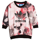 adidas Originals Girls Paris Crew Neck Pullover Sweater Sweatshirt Top (B GRADE)