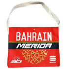 BAHRAIN MERIDA 2017 PRO CYCLING TEAM FEED BAG MUSETTE Fixed Gear - Made in Italy