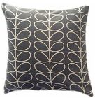 "CUSHION COVER made in orla LINEAR STEM fabric cool grey 16""-24"" zip kiely"