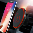 Qi Wireless Car Charger Magnetic Air Vent Mount Holder For Iphone XR Samsung S10