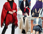 AU SELLER Blanket Poncho Colour Reversible Cloak Coat Warm SCARF/SHAWL sc037