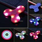LED Lights Three Pages Speaker Music LED Fidget Hand Spinner Finger Gyro AU